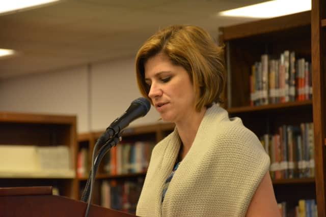 John Jay High School Principal Jessica Godin, pictured, abruptly resigned in October, although her exit is not official until next June.