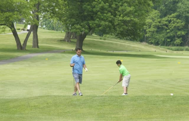 Wednesday is the perfect day to hit the links, as the weather in Fairfield County is expected to be sunny and warm.