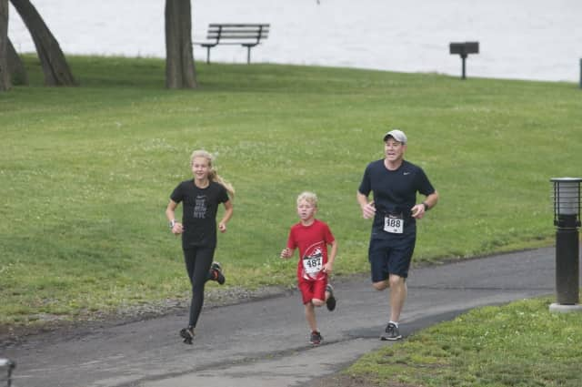 Celebrate Father's Day with the Dad's Dash 5K and Family Walk in Westwood.