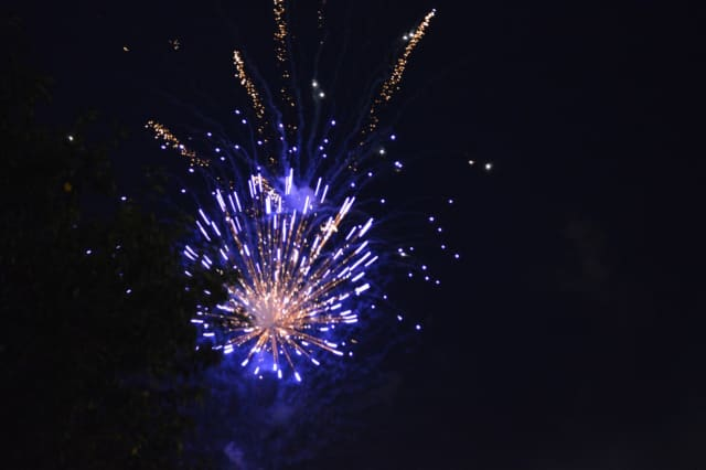 Fireworks will light up the sky in Stratford on Tuesday.