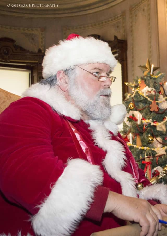 Santa visited children all over the world for Christmas this year.