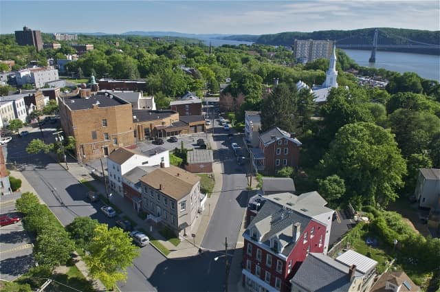 A view of Poughkeepsie.