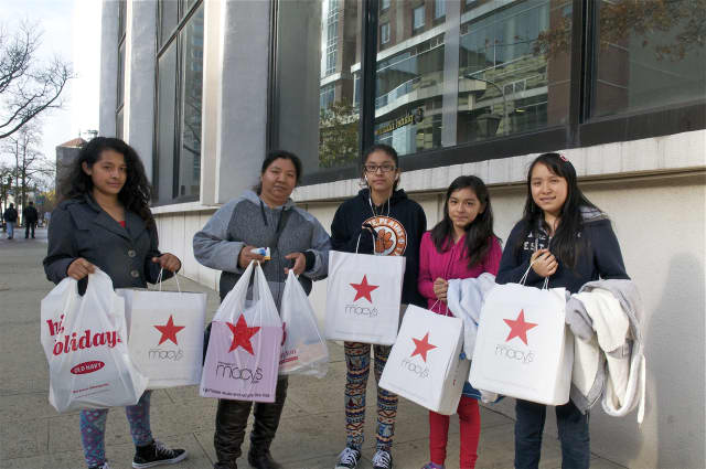 Shoppers were out in force looking for Black Friday deals last year.