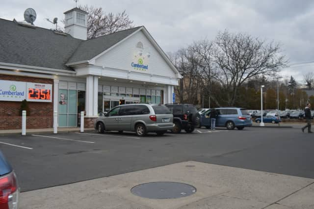 Cumberland Farms will be giving away free coffee at this Kings Highway location in Fairfield for two weeks in February.
