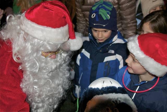 Santa will greet kids at American Legion Post 8 in New Rochelle on Dec. 13.
