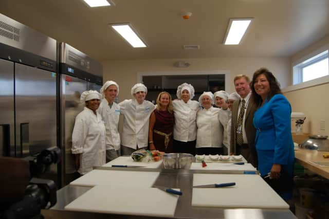 Officials from Putnam County and Putnam Northern Westchester BOCES gathered to mark the recent opening of the Tilly Foster Educational Center, a culinary arts program.