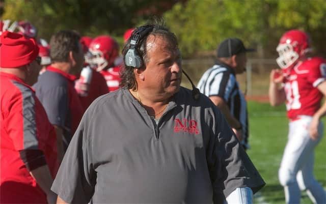 North Rockland Red Raiders football coach Tom Lynch