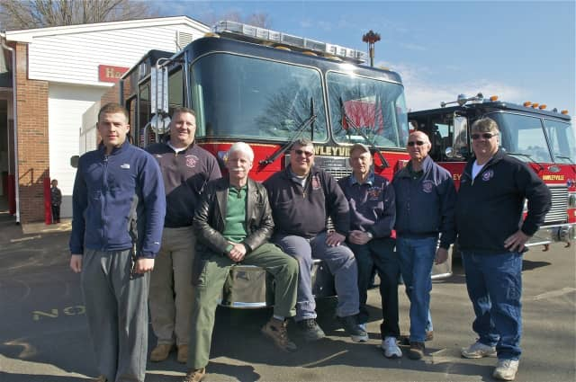 The Hawleyville Volunteer Fire Department is one of several in the area hosting open houses on Sunday.