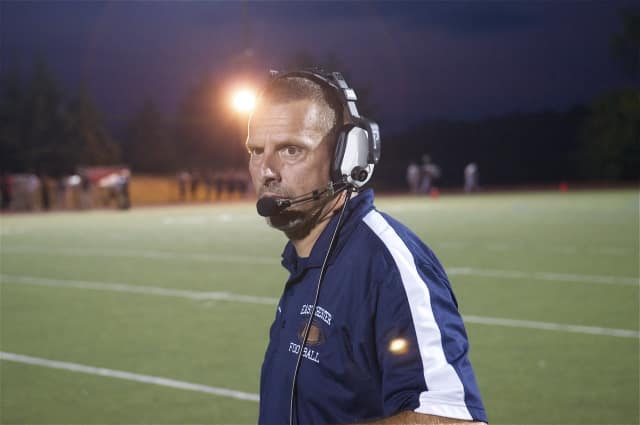 Eastchester High's Head Football Coach Fred DiCarlo was named Section 1's Class A Co-Coach of the Year.