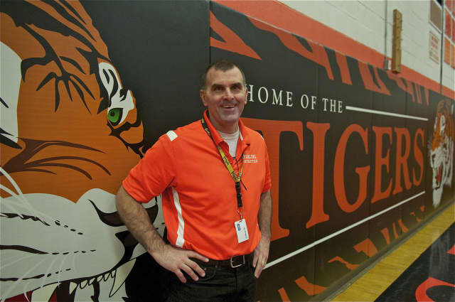 Pawling Director of Athletics and Dean of Students John Bellucci.