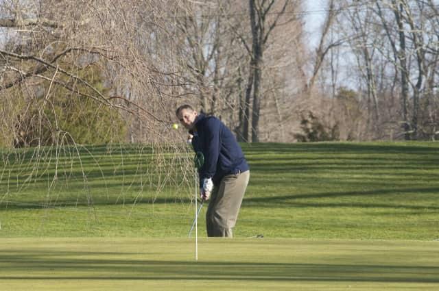 Golfers enjoying Tashua Knolls Golf Course. Trumbull Rotary's 50th anniversary celebration will be June 6, at Tashua Knolls in Trumbull.