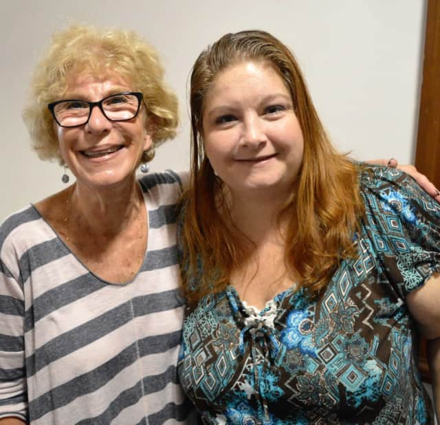 Sharyn Bauer, left, of Hackensack and Buffie Galifi of Lodi.