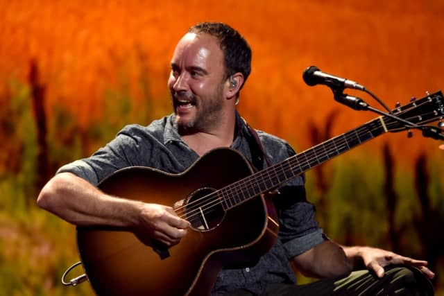 Dave Matthews is just one of many stars performing at Farm Aid 2018 this weekend.