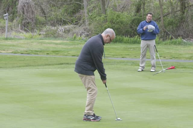 Golfers enjoyed the good weather Friday in Westport.