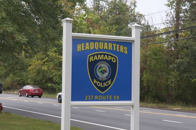 Ramapo police charged a woman Tuesday night who allegedly fell asleep behind the wheel with driving while intoxicated.