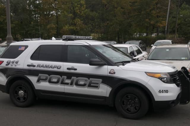 Ramapo police charged a man with trespass Thursday.