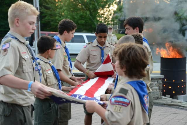 The Wyckoff Boy Scouts will have a flag retirement ceremony next Thursday.
