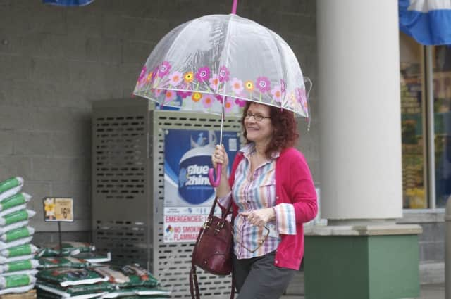Folks in our region need to get ready for a rainy weekend, says the National Weather Service.