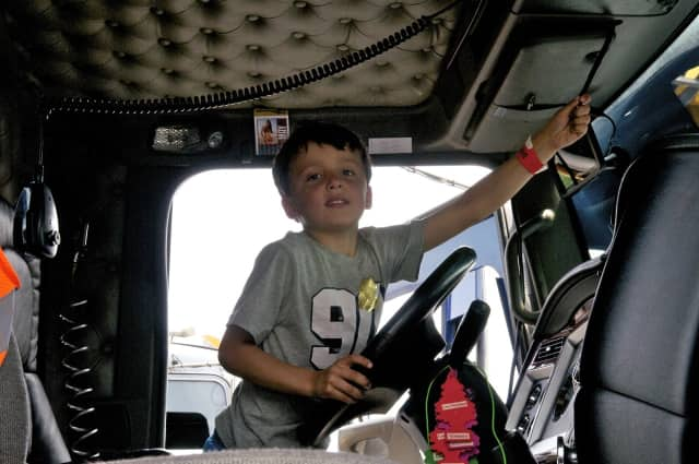 Kids can experience trucks up close during Touch A Truck on Sunday at the Ramsey Farmers' Market.