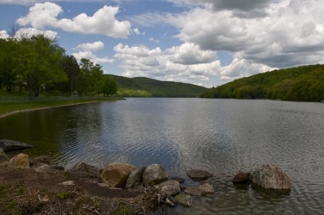 Squantz Pond State Park in New Fairfield