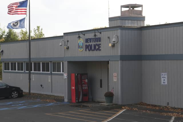 Newtown Police arrested a man for allegedly violating a protective order and assaulting a female.