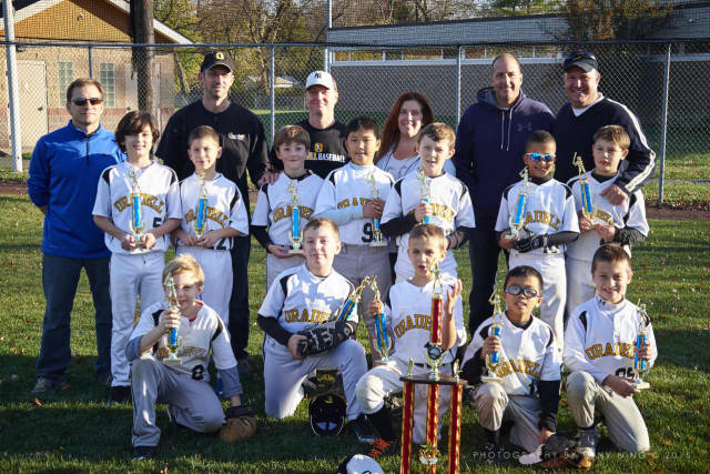 The Oradell Little League 9U Travel Team won the 2015 Championship Games.