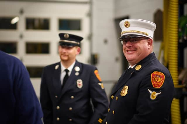 Oradell FD welcomes its new leadership for 2016.