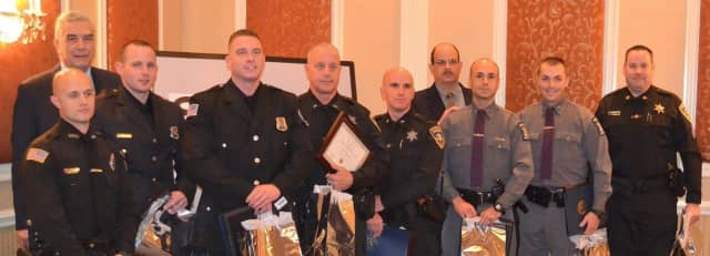 Members of the Dutchess County STOP-DWI Program honored local Top Cops on Thursday for their commitment to the program's mission of keeping residents as safe as possible on the roads.