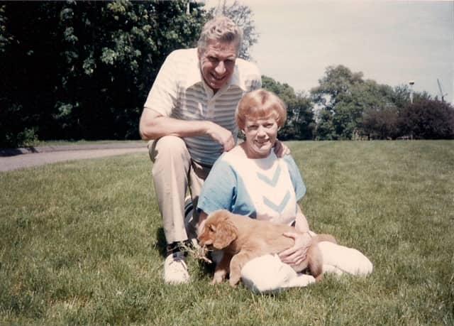 Martha Lillian McCandless and her husband, Roy.