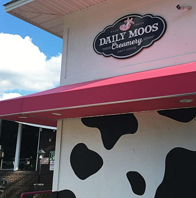 This July, Cortlandt Manor got another ice cream option, with Daily Moos.