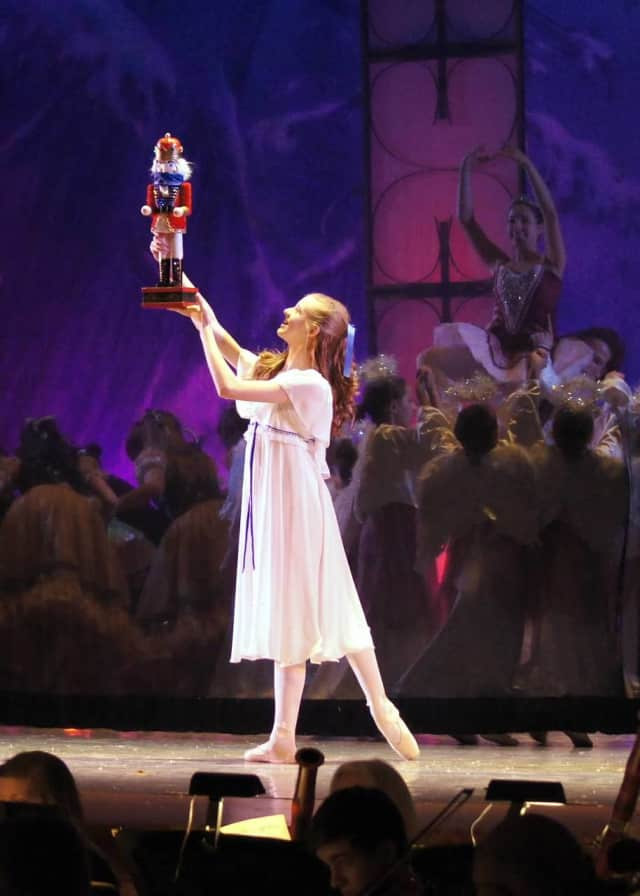 """There are four performances of """"The Nutcracker"""" at the Danbury Music Centre this weekend."""