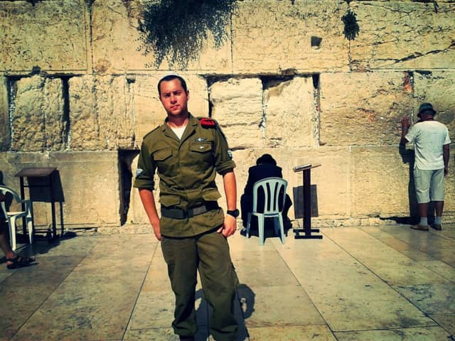 Larchmont resident Daniel Scopp served as a paratrooper in the Israel Defense Forces.