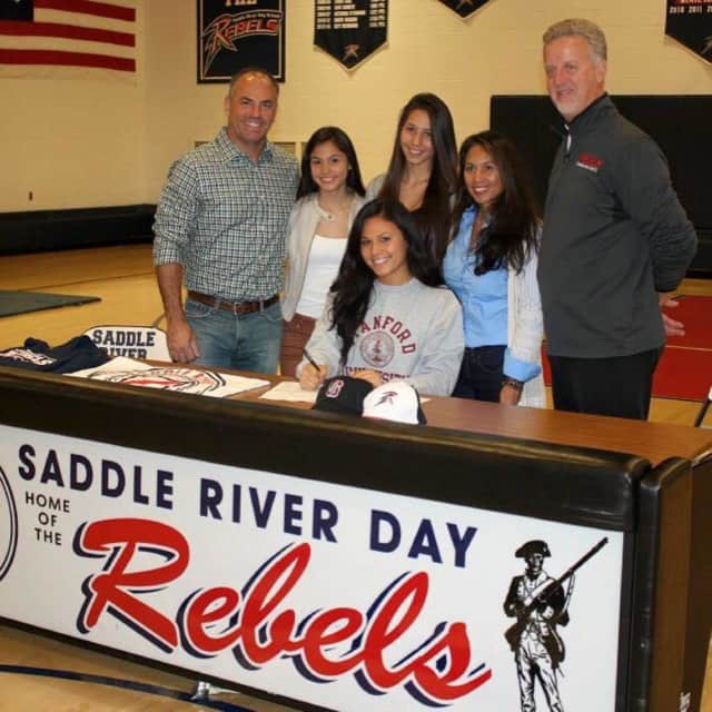 Daniella McMahon has signed with Stanford, and she recently reached a major milestone.