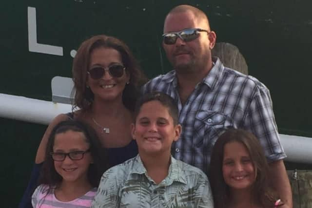 Danielle Convertino of Waldwick, pictured here with her family, is fighting Lupus.