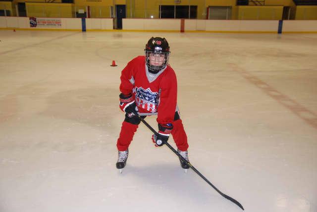 Dante Palombo of White Plains made the New York Rangers 2015-16 Pee Wee Quebec Ice Hockey team.