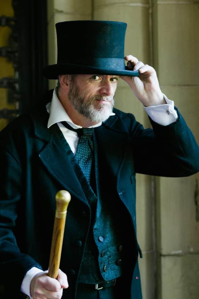 Darrel James as Scrooge