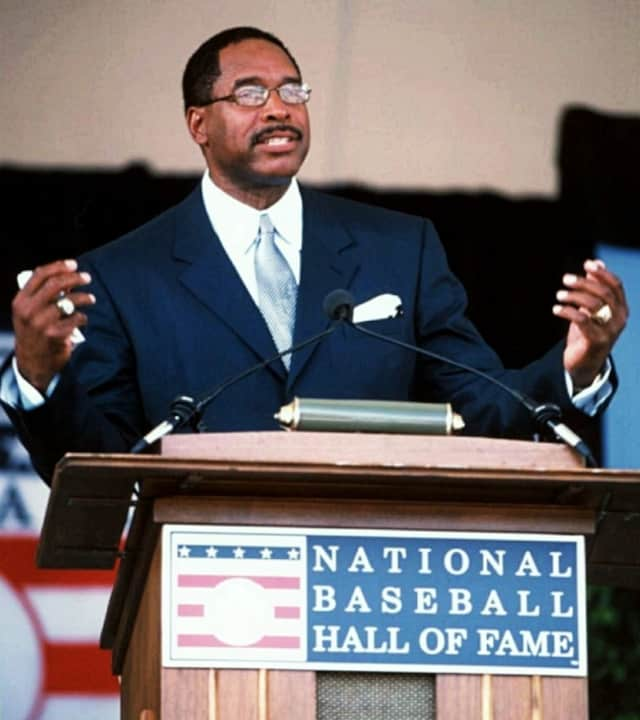 Dave Winfield was inducted into the Baseball Hall of Fame in Cooperstown in 2001.