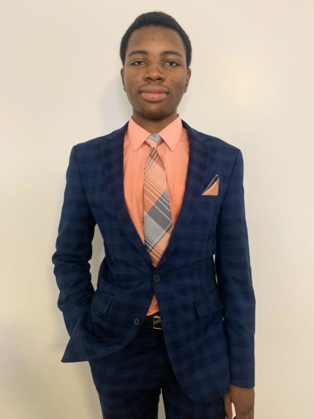 David Odekunle, a 17-year-old Bloomfield High School senior, was accepted to 15 universities, including seven Ivy League schools.