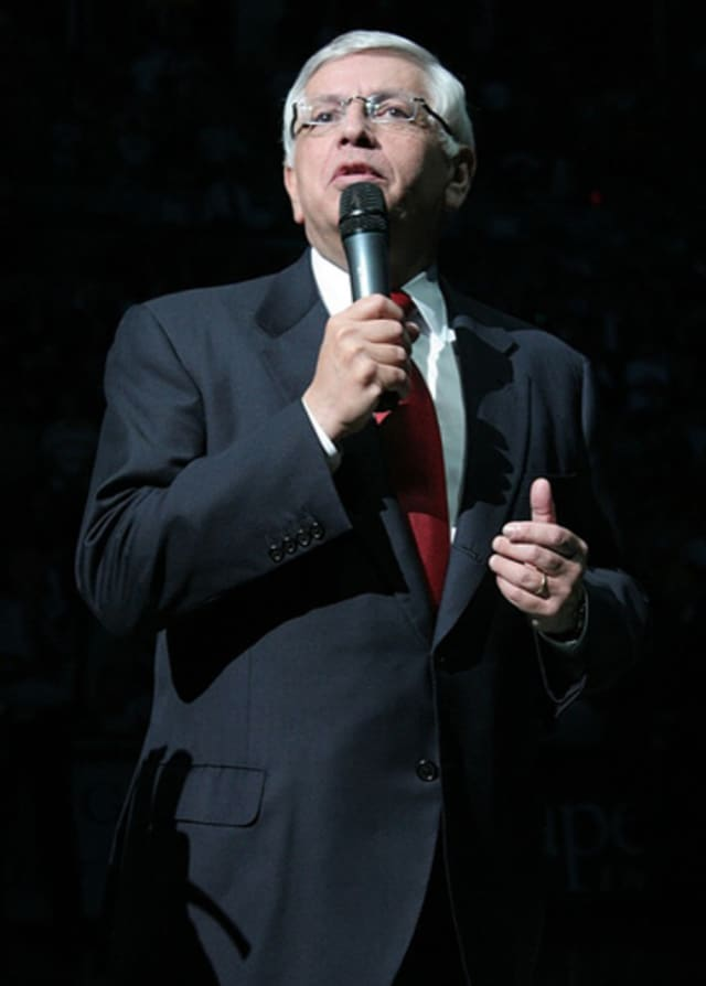 David Stern turns 73 on Tuesday.