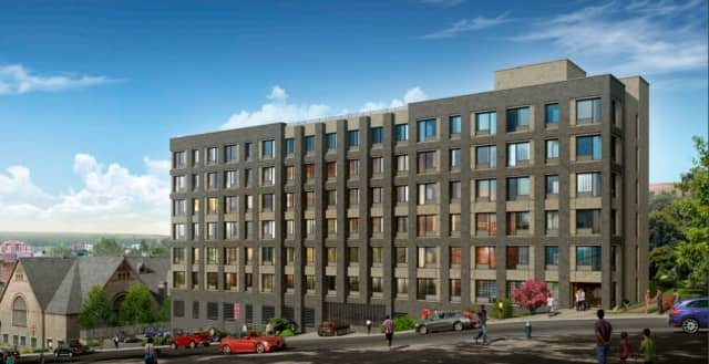 The Dayspring Campus, a development with 63 affordable and supportive apartments, was completed in southwest Yonkers.