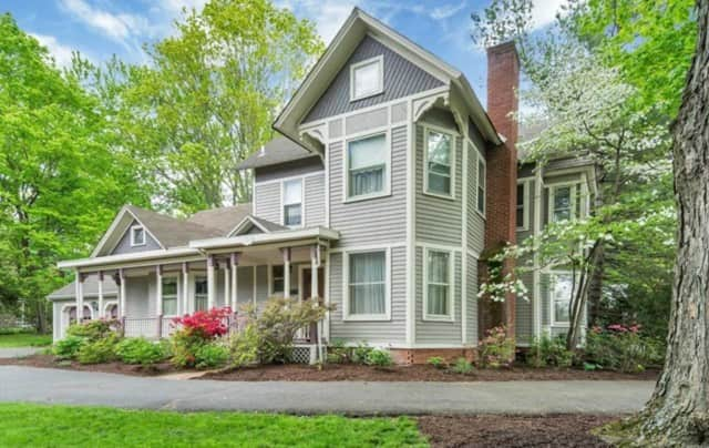 The DeBaun house in Saddle River is for sale.