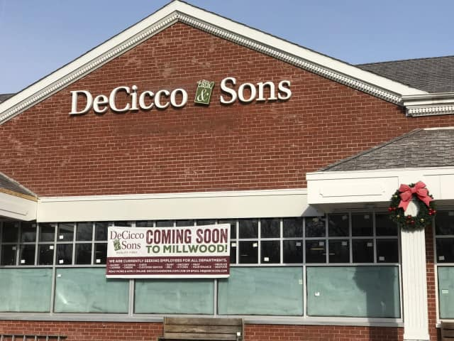 DeCicco & Sons is opening a new location in Millwood.