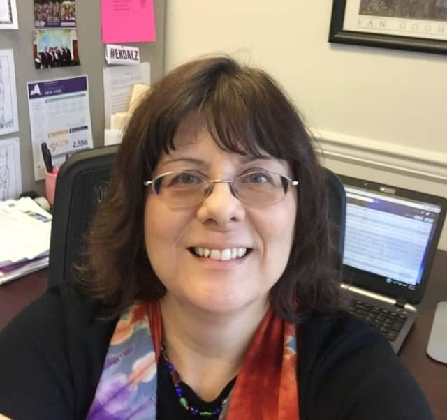 Debbie Warburton, director of government relations for the Alzheimer's Association Hudson Valley Chapter., will lead an advocacy training session in Nanuet on Wednesday, Aug. 17.