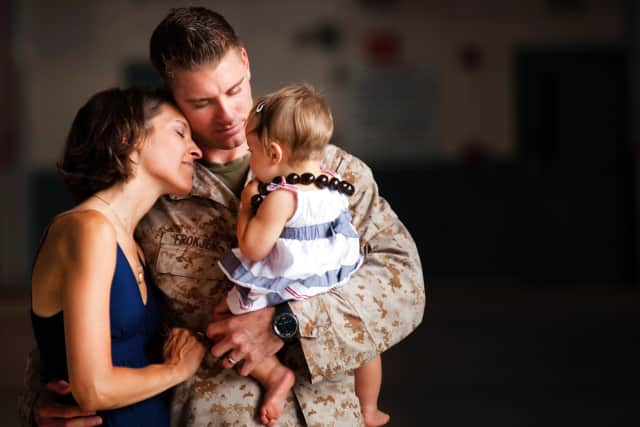 Teaneck has organized a program for military families.