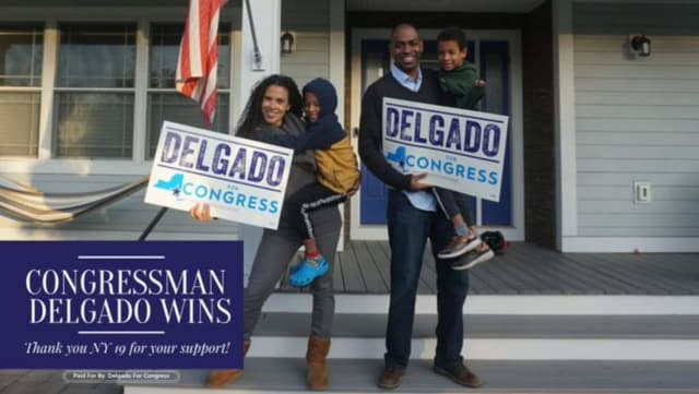 A photo posted by on Twitter by incumbent congressional candidate Antonio Delgado