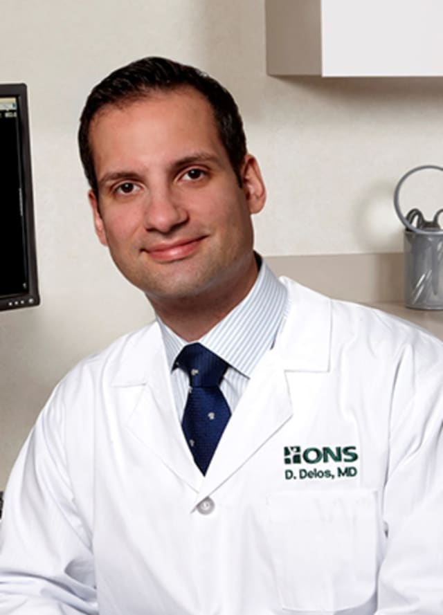 Demetris Delos, MD, is an orthopaedic knee surgeon at ONS.