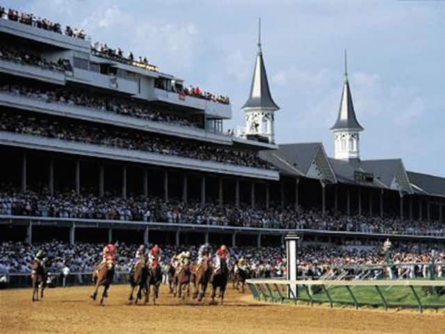 A Kentucky Derby themed party, along with a racing art exhibit, is set for May 7 at Equis Art Gallery in Red Hook, N.Y.