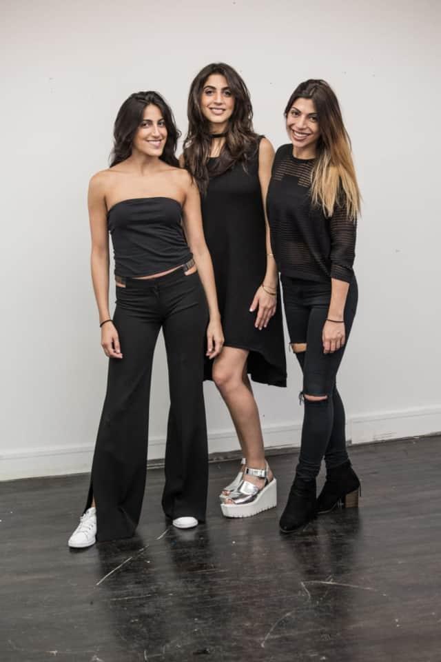 Left to right: Nora, Nika, Neda Hakakian.