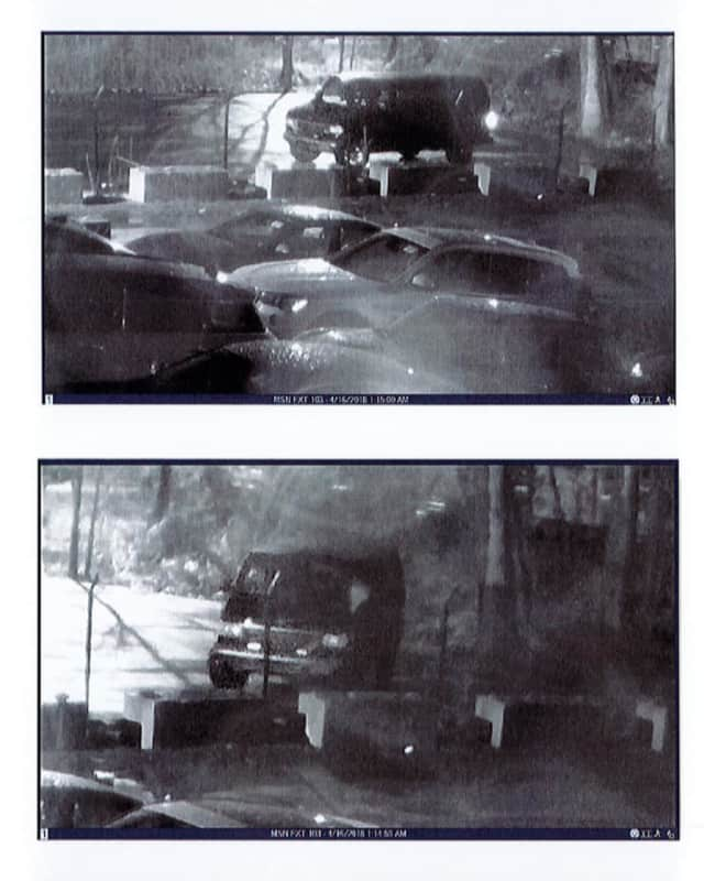 The Ramapo Police Department has released photos of a van used to steal rims from a local business.