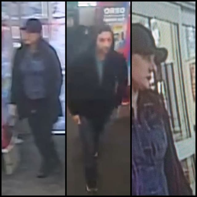 Suffolk County Police investigators released the photos of three suspects accused of using stolen credit cards.